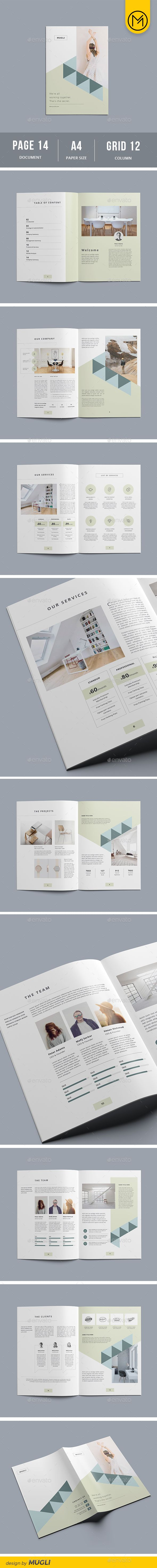 Company Profile Brochure TemplateBrochure DesignCompany ProfileAnnual