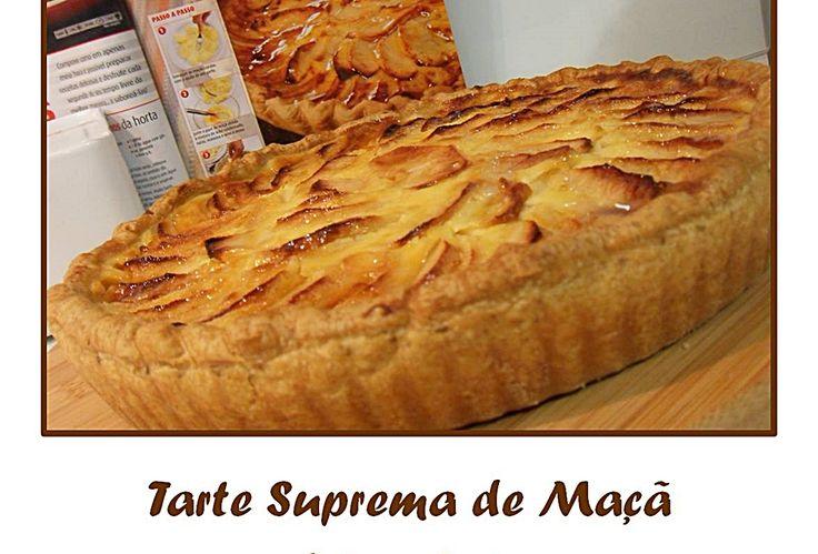 Tarte Suprema de Maçã - http://www.sobremesasdeportugal.pt/tarte-suprema-de-maca/