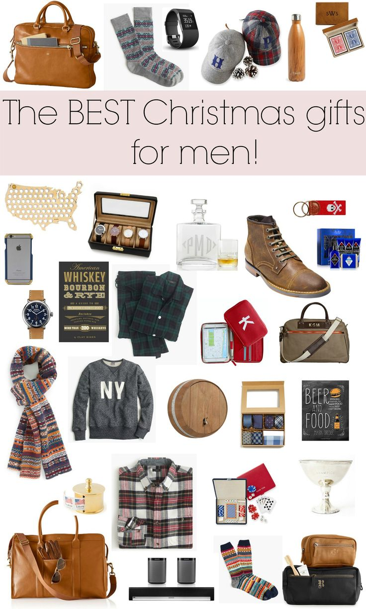 Christmas gift ideas for men! Holiday Gift Guide via Glitter & Gingham