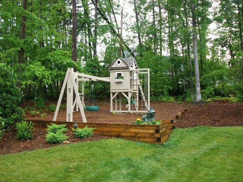 backyard playground hand crafted wooden playsets u0026 swing sets gallery