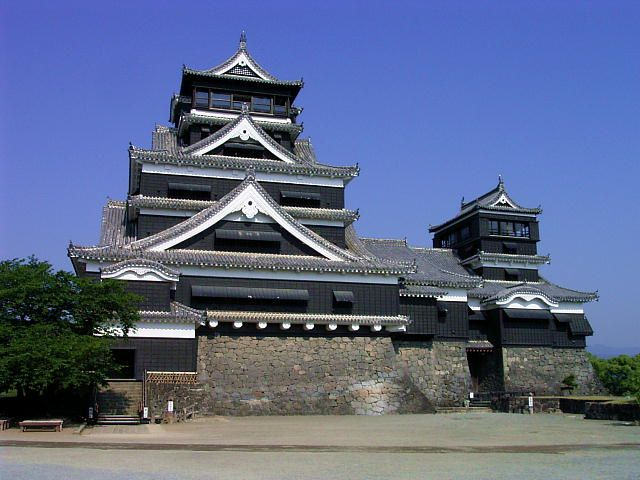 """""""Castelo Kumamoto"""". # Kumamoto, Japão."""