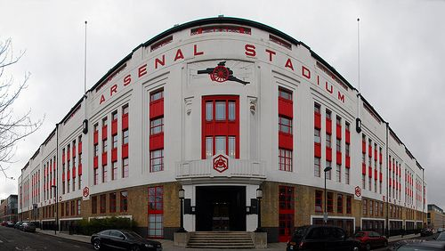 "One of the best old grounds in the EPL. Miss watching games there on the TV. The Emirates trying to follow suit. ""Highbury Stadium"""