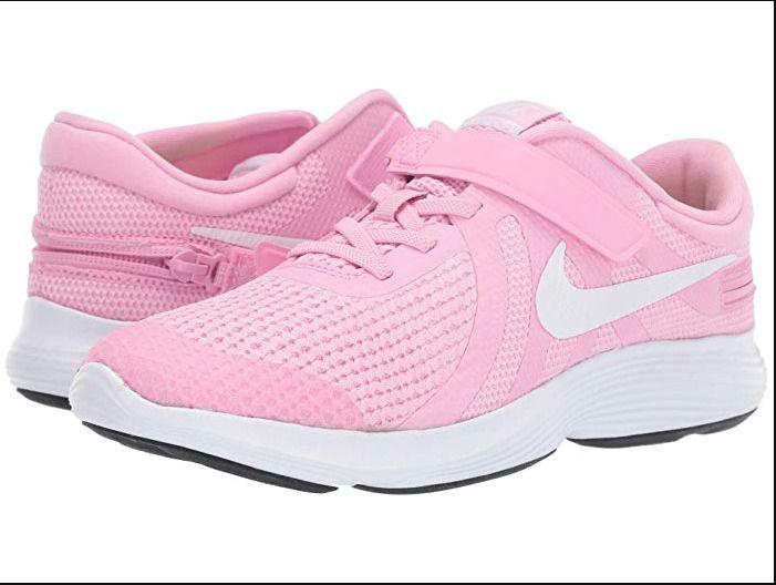 Nwt Girls Nike Shoes 7y Child Flyease Revolution 4 Big Kid Leg Braces Zippered Nike Athletic In 2020 Nike Kids Nike Shoes Girls Baby Nike Shoes