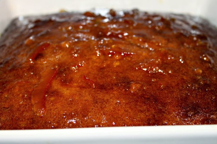 Given To Distracting Others: Orange and Sultana Pudding and a Giveaway