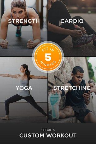 Sworkit Lite (free, iOS and Android) is built for busybodies. | 13 Free Apps That Are Better Than A Gym Membership