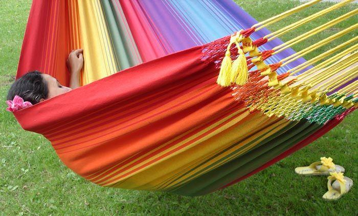 Rainbow Hammock XL Short colour #2, Marañon World of Hammocks