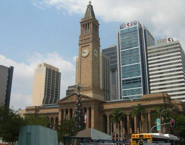 City Hall. Brisbane, Queensland. Australia.