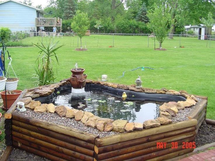 1000 images about pond ideas on pinterest backyard for Preformed fish ponds