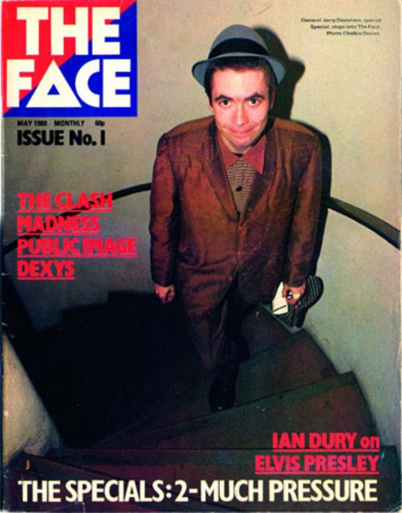 'The Face' - Neville Brody. I like the colours from 'The Face' logo, and the image of the man is different from most magazine covers of people.