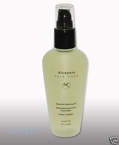 Aloette Essential Cleansing Oil - takes you makeup off at night quickly and easily and helps lashes grow thicker, fuller and longer!!!