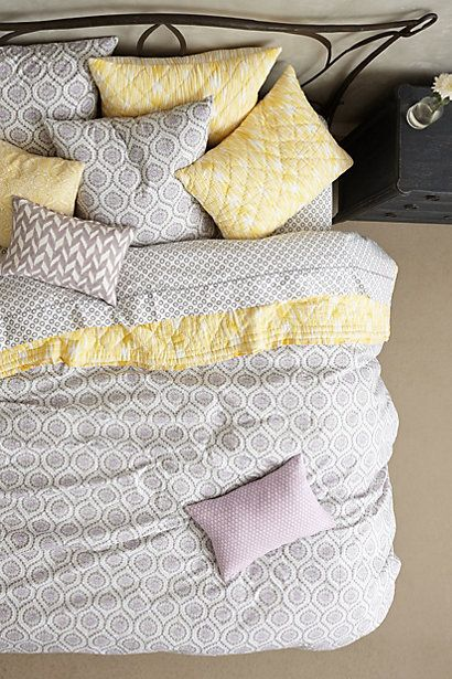 Anthropologie Parula Duvet #anthrofav #greigedesign