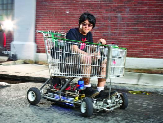 You Built What?! The Shopping Go-Kart | Popular Science