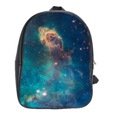 Galaxy Nebula Cosmic Large Backpack, Travel Backpack, School Bag