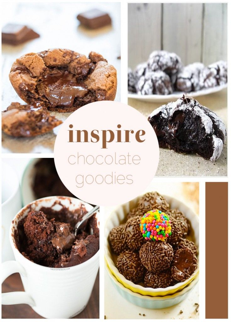 Inspire :: Chocolate Goodies - Little Bit of Thyme