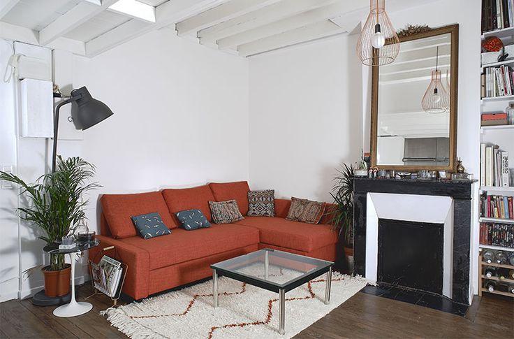l'espace séjour bénéficie d'une plus grande hauteur sous plafond pour un volume et une luminosité plus généreuse //crédit photo : Dorian Huet