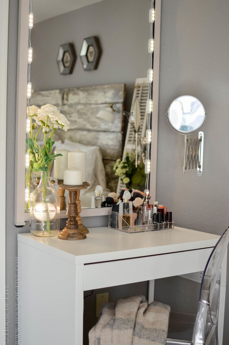 DIY Vanity. Desks IkeaMicke Desk IkeaBedroom ...