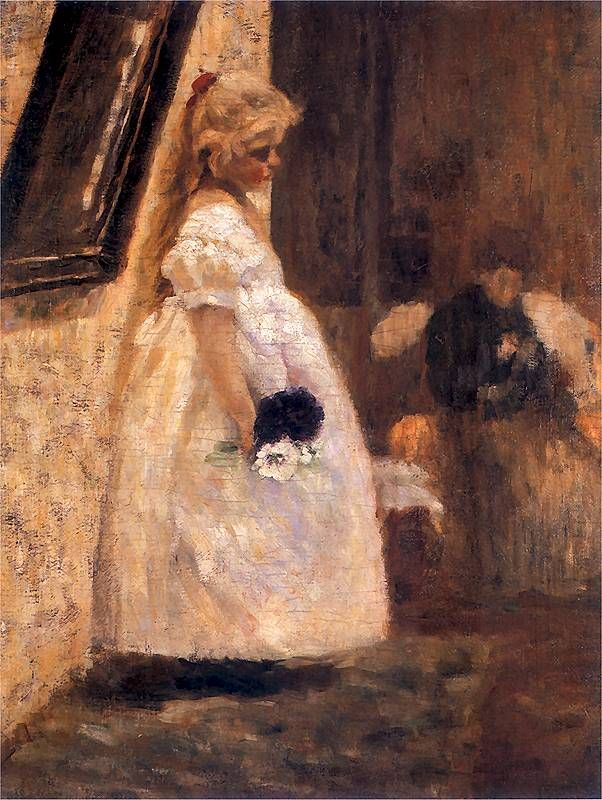 Imieniny babuni, 1889, National Museum in Warsaw Olga Boznańska (Polish, 1865–1940)