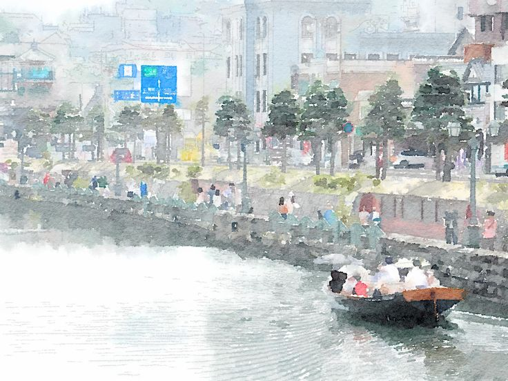 """Otaru canal"" Otaru Hokkaido Japan [2012.05.17]"