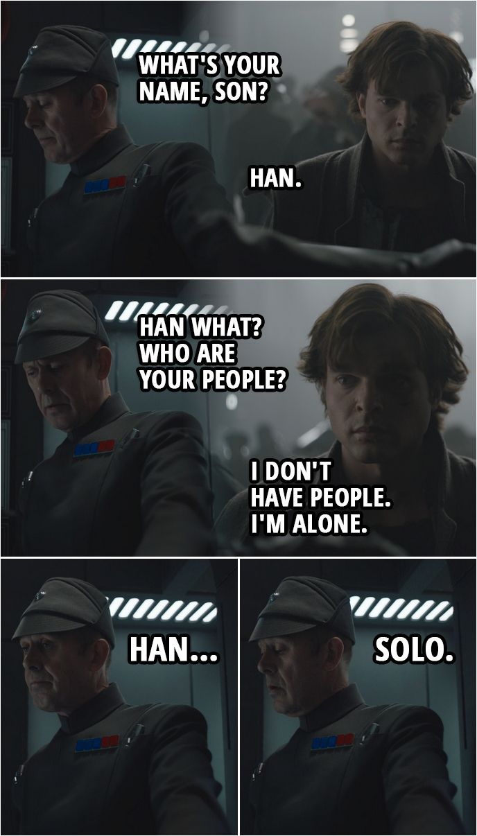 10 Best Solo A Star Wars Story Quotes Never Tell Him The Odds Scattered Quotes Star Wars Humor Star Wars Quotes Star Wars Jokes