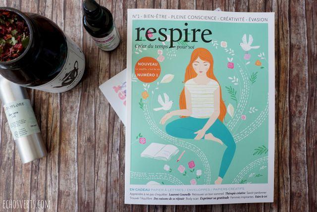 respire, magazine pour prendre du temps pour soi