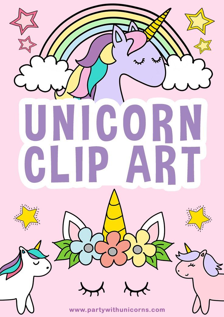 Cute Unicorn Drawings With Images Clip Art Freebies Unicorn