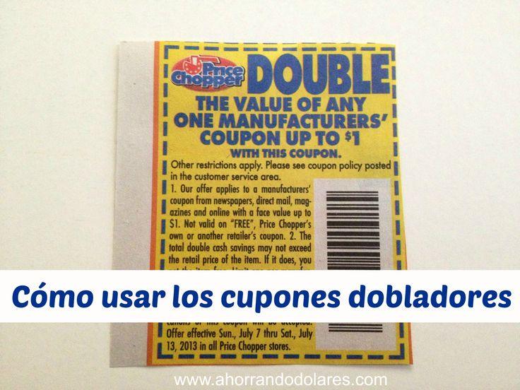 Ahorra el doble en tus compras usando cupones de descuento dobladores. Aquí te contamos como funcionan.