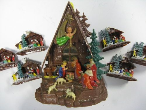 Nativity given in Catholic School for Christmas1960s