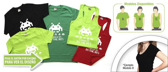 Camiseta Invaders