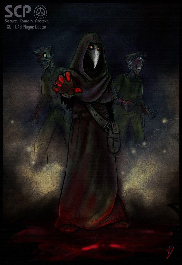 SCP-049 Plague Doctor by Klar-Jezebeth on DeviantArt ... Scary Guy Meme