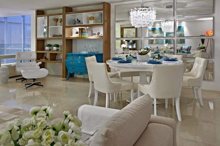 Decor Salteado - Blog de Decoração e Arquitetura : Mesas redondas – veja 30 salas de jantar e cozinhas com essa tendência + dicas!