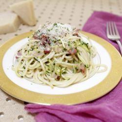 Easy Pasta Carbonara @ allrecipes.com.au