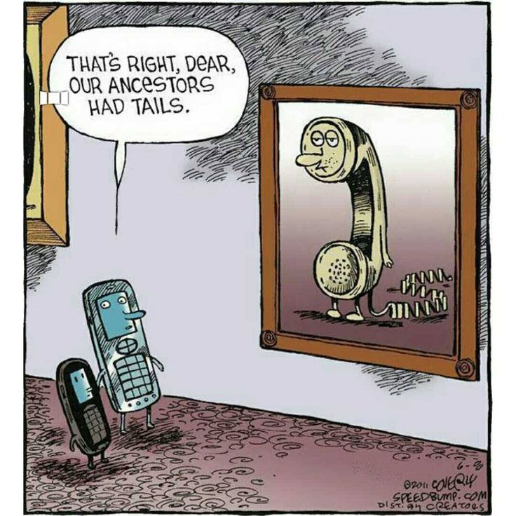 They had tails..   Technology before and now  #geek #programmer #programming #coding #humor #css #code #java #python #education #codeaholics #computerscience #javascript #apple #microsoft #php #school #coffee #motivation #developer #coder #fix #windows #linux #funnyprogramming #devhumor #computer #telephone