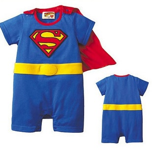 BOYS BABY GRO/ROMPER SUIT FUNKY SUPERMAN/BATMAN FANCY DRESS COSTUME OUTFIT gift | eBay