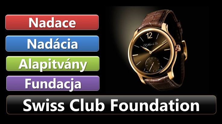 Swiss Club Foundation 2016 - už čoskoro
