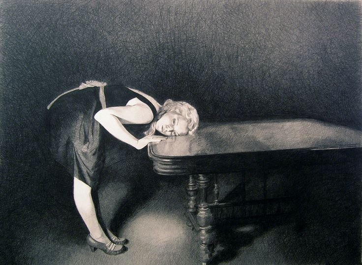 Queen of the Underground / The Trouble with Dreams by Mercedes Helnwein, 2006-2007