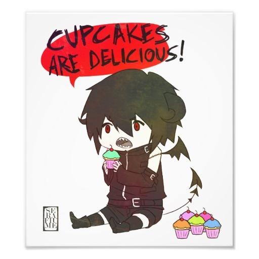 Cupcake Demon Art Photo