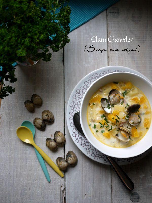 Clam Chowder (soupe aux palourdes)
