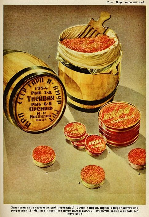 (red caviar) Soviet poster красная икра) советские плакаты…