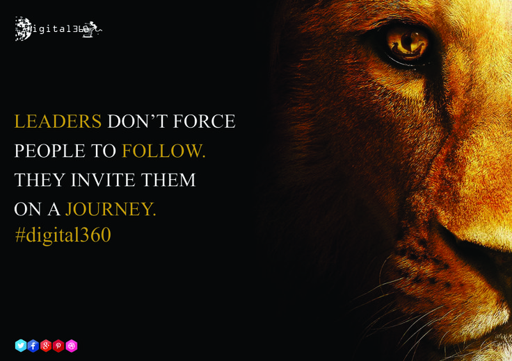 Be the leader and design more leaders...  #digital360 #leaders #journey #mondaymotivational #goodquote #thoughtoftheday #followers #influencers #success #force #newdelhi