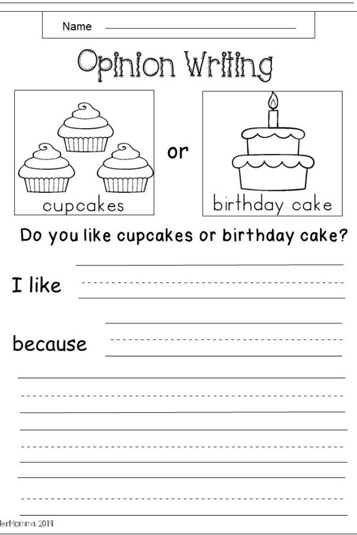 Free Kindergarten Writing Worksheets Writing Worksheets