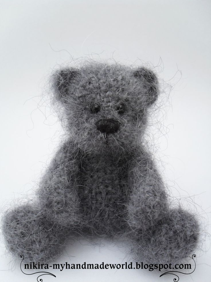 Bear, crochet, free pattern: