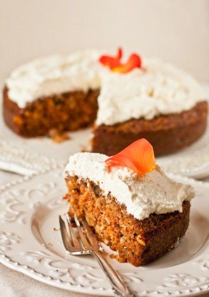 Морковный пирог от Айзека Корреа