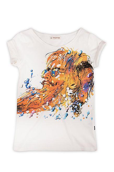 Pan Kleks Świerzy damska koszulka | Pan tu nie stał