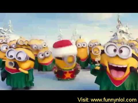 Minions Singing Christmas Song Jingle Bell – 2014 by http://www.funnynlol.com/funny/minions-singing-christmas-song-jingle-bell-2014