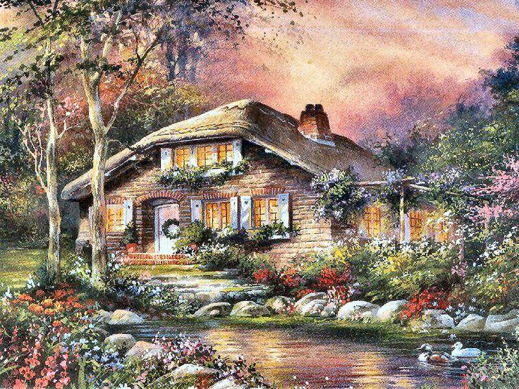 Pondside Place by Jim Mitchell