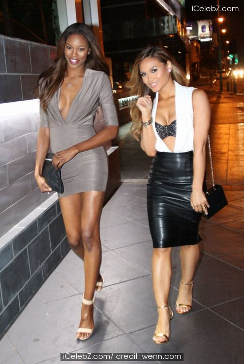 Daphne Joy and Eugena Washington go for dinner together at RivaBella in West Hollywood See more pic. http://www.icelebz.com/events/daphne_joy_and_eugena_washington_go_for_dinner_together_at_rivabella_in_west_hollywood/
