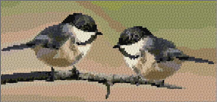 Downloadable needlepoint pattern. Hundreds of free patterns on this site. www.cross-stitch-pattern.net