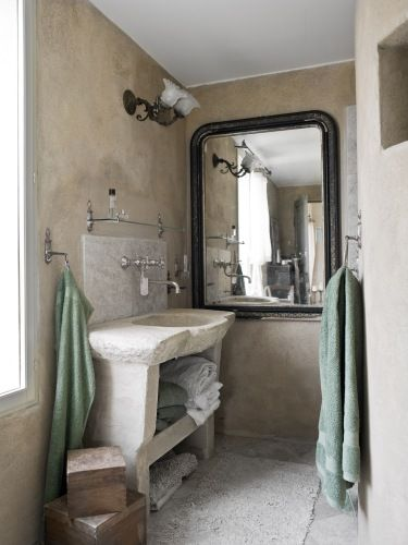 A bath in Rikke & George Trad's house in Denmark