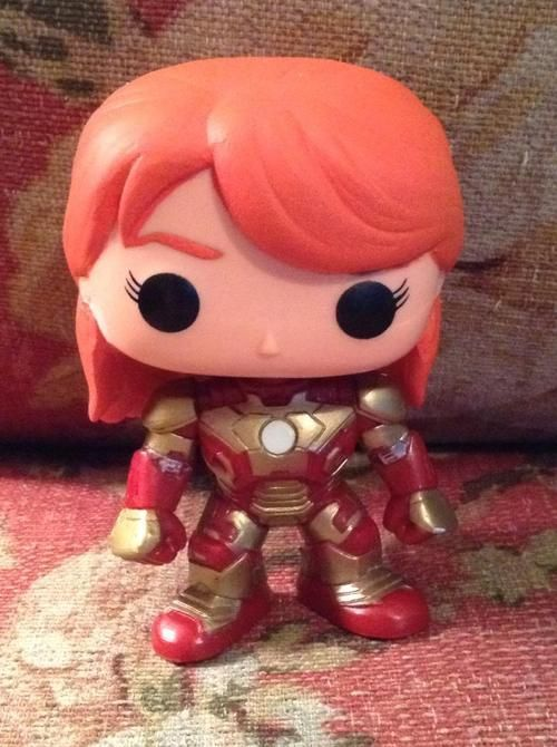 Funko Pop Marvel Pepper Potts Rescue Custom Funko Pop