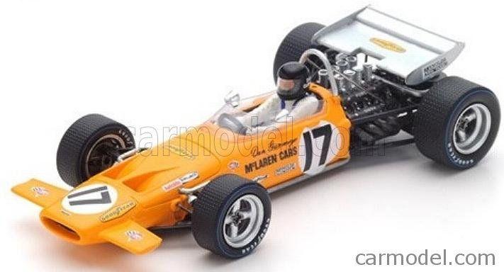 SPARK-MODEL S4844 Scale 1/43  McLAREN F1  M14A N 17 FRANCE GP 1970 DAN GURNEY YELLOW